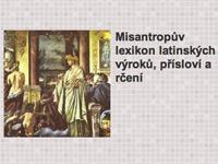 Misantropův lexikon latinských výroků, přísloví a rčení
