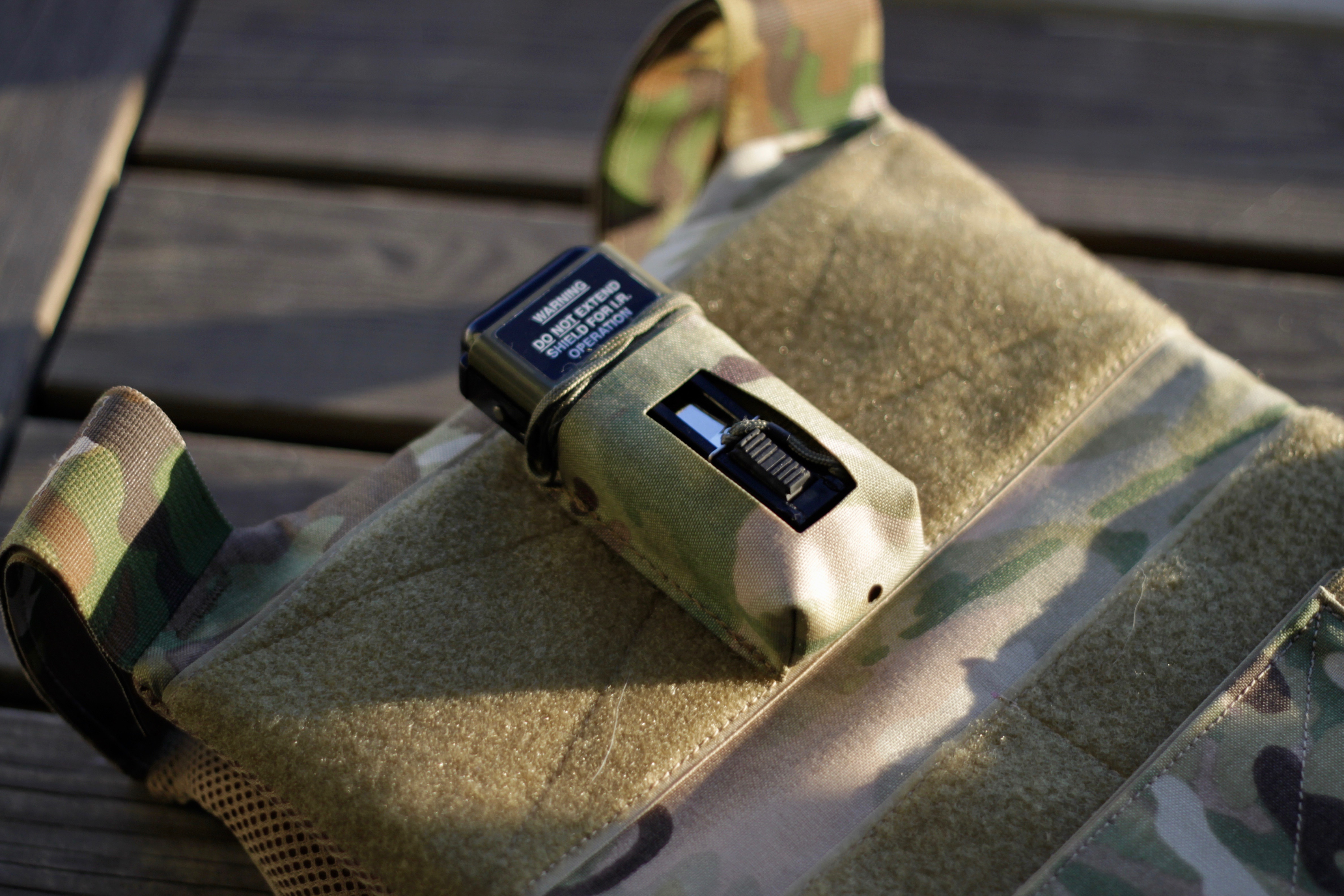 TMC MS2000 IR Infrared Strobe Pouch For Vest Tactical