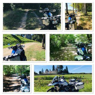 Cette randonnée pour motos Trail & MaxiTrail, vous est proposée à la journée.