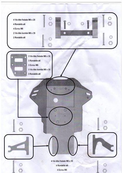 notice Sabot PEHD BMW R 1250 GS