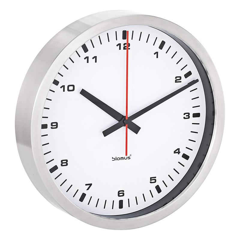 NeXtime 8149zw Shoko Horloge Verre Noir 43,0 x 43,0 x 3,2 cm