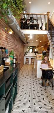Family Travel Guide: Chapel Hill, NC - Perennial Cafe - www.spousesproutsme.com