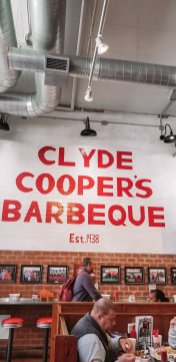 Family Travel Guide: Raleigh, NC - Clyde Cooper's BBQ - www.spousesproutsme.com