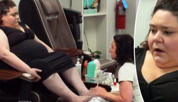 Мастер унижала тучную женщину в педикюрном салоне. Другие клиенты не стали это терпеть!