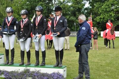SPR-NM Kat 1, Finlands første medalje (bronze)