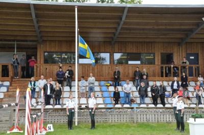 SPR-NM Svensk halg på halv stang