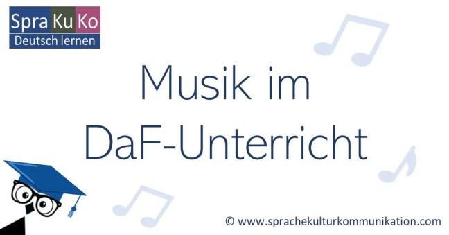 Lieder DaF-Unterricht - Musikvideos