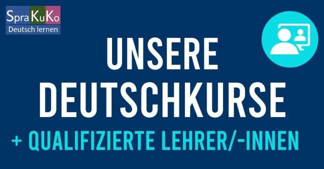 Deutschkurse online