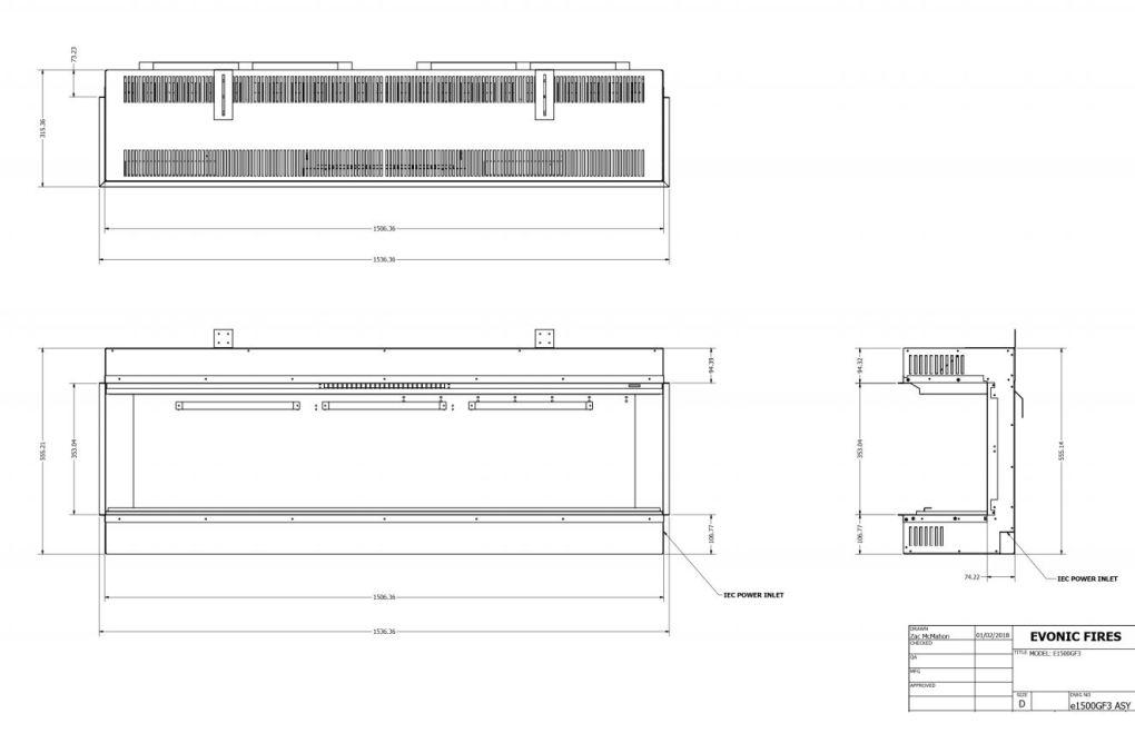 Evonic E1500GF Diagram
