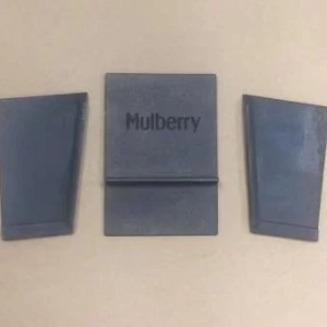 Mulberry Stoker Side Plates and Back Plate