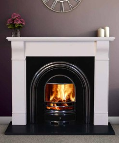Tara Marble Fireplace Surround