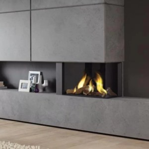 2 Sided Gas Fires