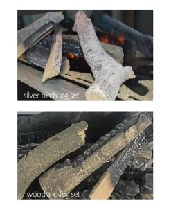 Silver Birch log Option