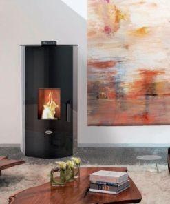 Kalor Redonda 20B Wood Pellet Boiler Stove