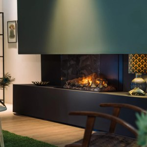 Faber e-MatriX 800/500 III Triple Sided Electric Fire