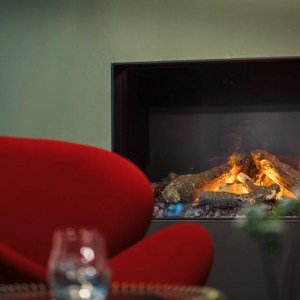 Faber e-MatriX 800/500 II Double Sided (Corner) Electric Fire