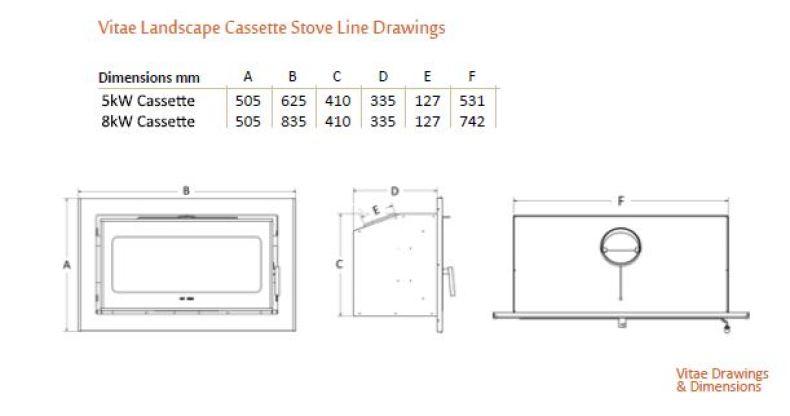 Heat Design Vitae 5 and 8 landscape Diagrams