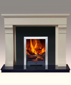 Umbria Marble Fireplace Surround