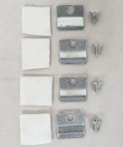 Mazona Newport Glass Clip Set4 Per Stove
