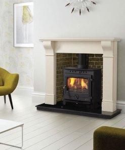 The Achill 16kW room heater multi fuel stove