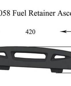 Henley Ascot 7kW Stove Fuel Retainer