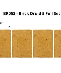 Henley Druid 5kW Freestanding Stove Full Brick Set