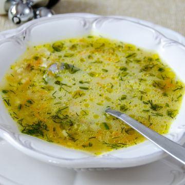 Zupa ogorkowa w 4 minuty