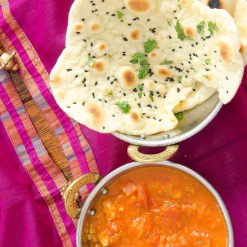 Naan - chlebek indyjski