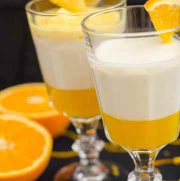 panna cotta pomaranczowa