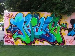 """Graffiti """"Phase"""" Schriftzug"""