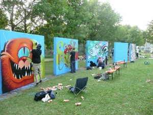 Graffiti Hall of Fame 24H front
