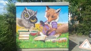 Graffitiauftrag Melanchthonheim