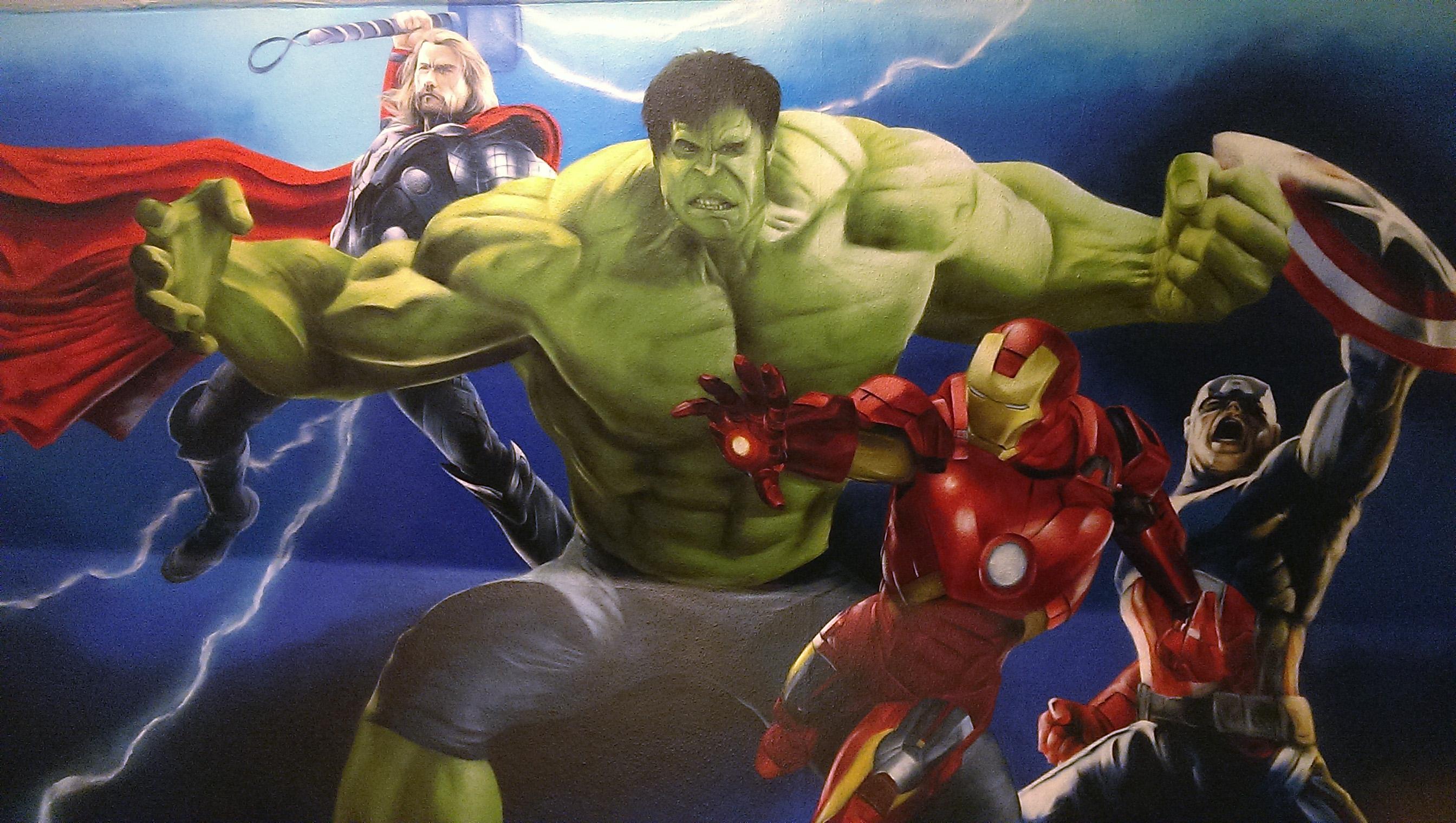 Avengers finished