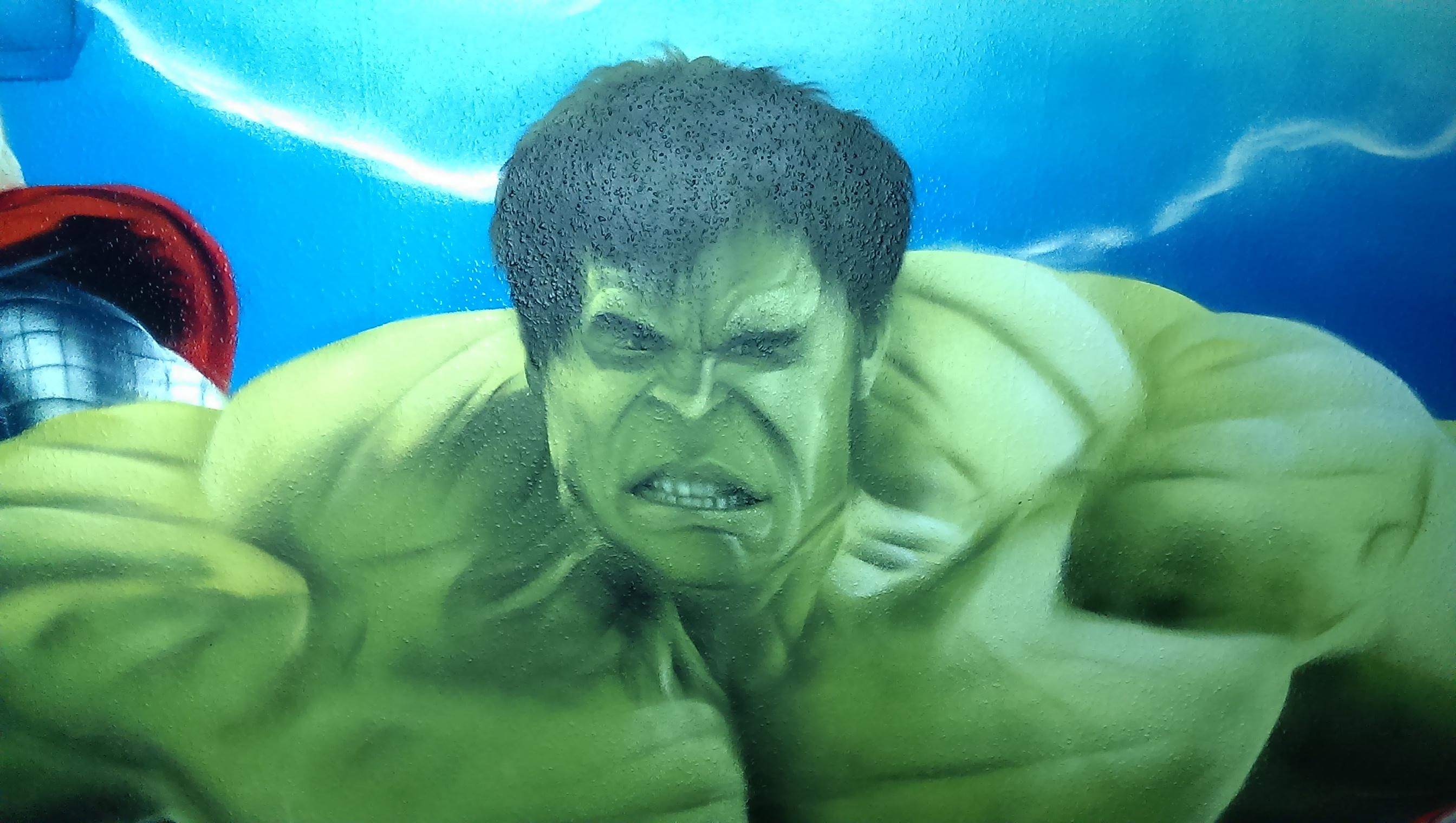 Graffiti Hulk