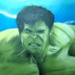 Avengers als Graffiti
