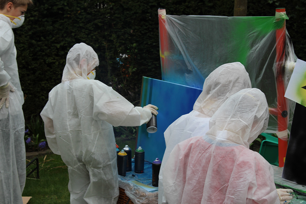 Graffiti Workshop Kindergeburtstag 1