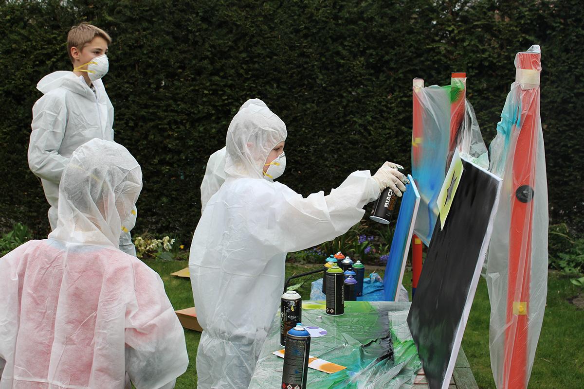 Graffiti Workshop Kindergeburtstag 2