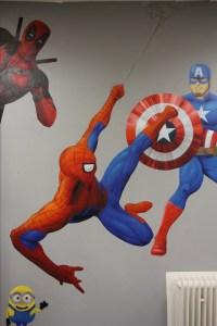Graffitiauftrag Hyper Gym Spider-Man