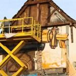 Von Leitern und Hebebühnen– Arbeiten in großer Höhe