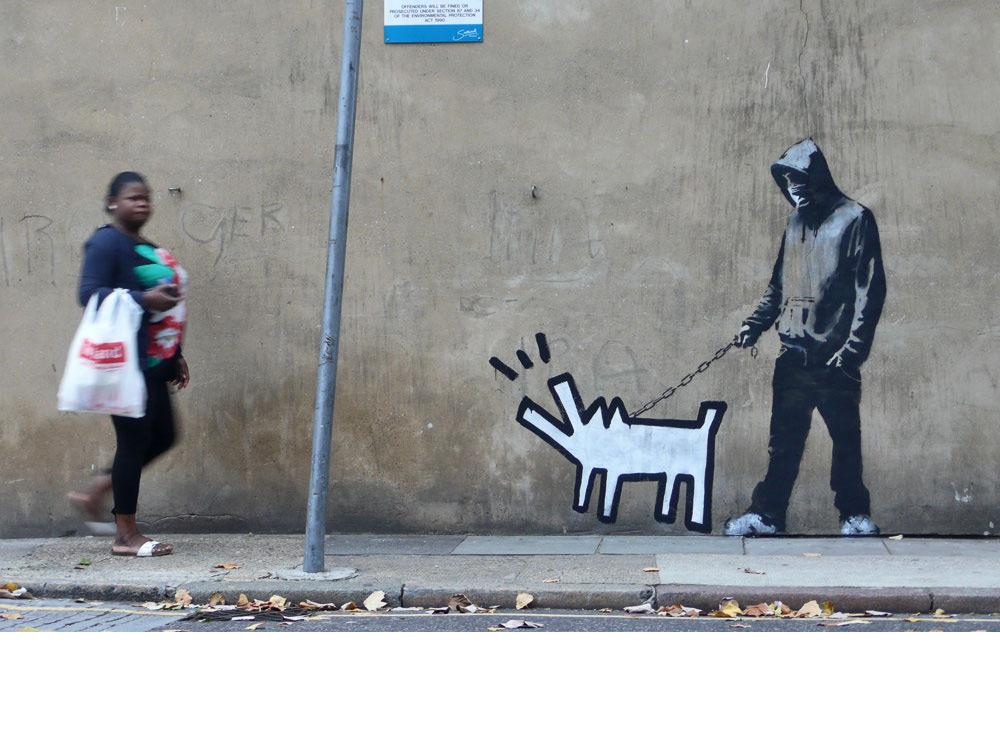 dog Banksy