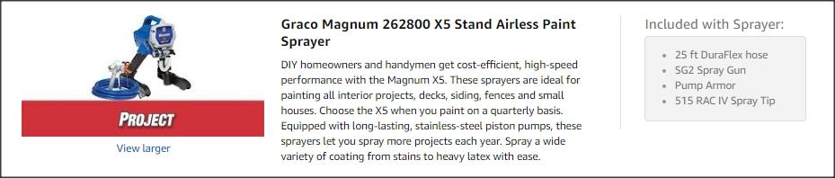 Graco Magnum X5