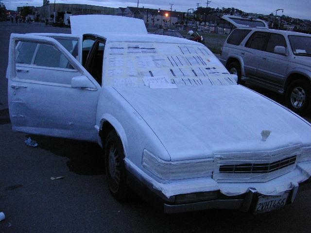 how to spray paint a car