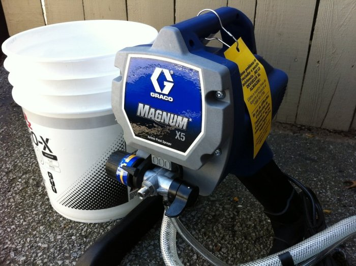 How to use Graco paint sprayer