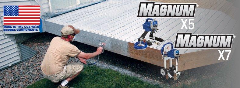 Graco Magnum X5 vs X7
