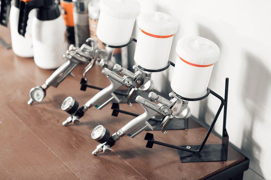 spray gun components