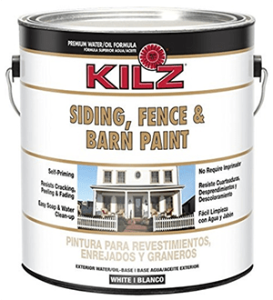 KILZ Exterior Siding, Fence, And Barn Paint (1 Gallon)