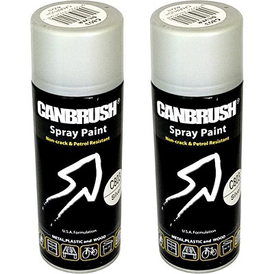 CANBRUSH Spray Paint - For Metal Plastic & Wood