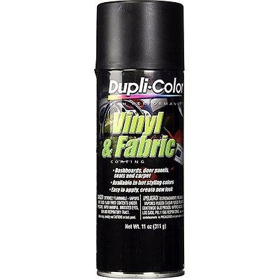 Dupli-Color HVP106 Flat Black High Performance Vinyl and Fabric Spray