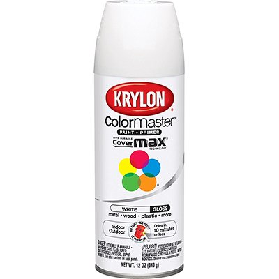 Krylon Interior-Exterior Enamel Spray Paint