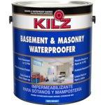 KILZ Interior-Exterior Basement and Masonry Waterproofing Paint